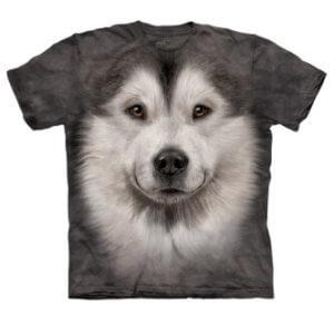 Tričko s potiskem Aljašský malamut