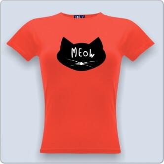 Triko s kočkou Meow