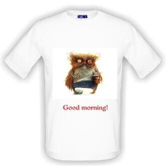Triko Dobré ráno se sovou