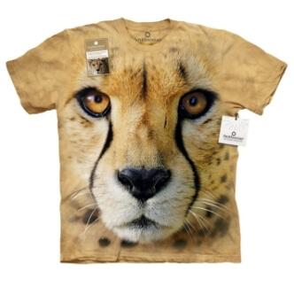 Tričko s potiskem Gepard