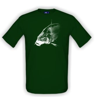 Tričko pro rybáře kapr