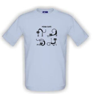 Tričko s obrázkem Kočičí jóga