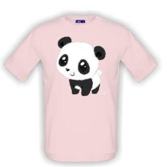 Dětské tričko s potiskem panda
