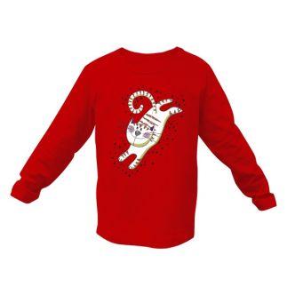 Dětské tričko s obrázkem kočky Pozor letím