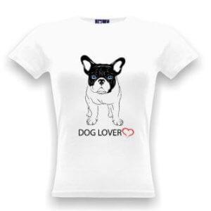 Tričko s potiskem psa Dog lover
