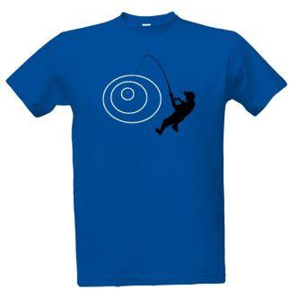Rybářské tričko s potiskem Rybář s udicí
