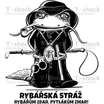 Potisk trička Rybářská stráž