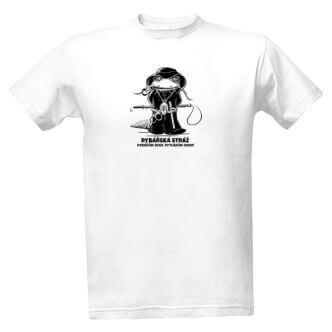 Tričko s potiskem Rybářská stráž