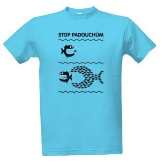 Tričko s potiskem Stop padouchům