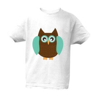 Dětské tričko s potiskem Moudrá sova