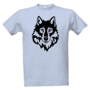 Tričko s potiskem Vlk