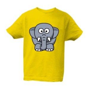 Dětské tričko s potiskem Slůně
