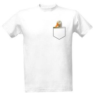 Tričko s potiskemHusa v kapse
