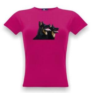 Tričko s potiskem psů