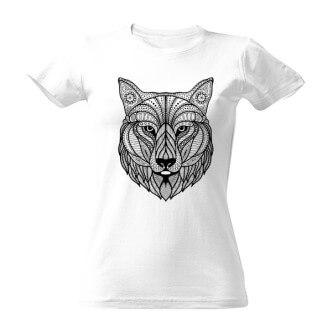 Tričko vybarvovací Vlk