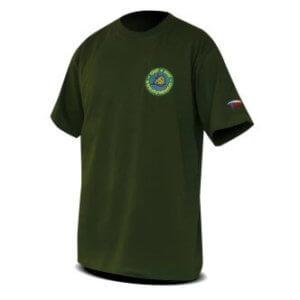 Tričko s potiskem Chyť a pusť zelené