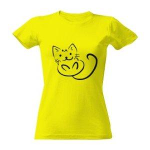 Tričko s potiskem koťátko