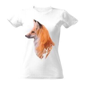 Dámské tričko s potiskem Liška