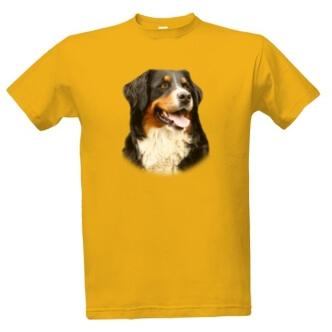 Tričko s potiskem Bernský salašnický pes