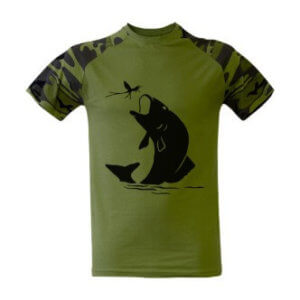 Tričko s potiskem ryba