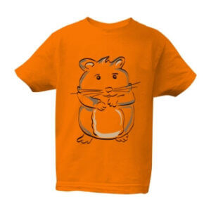 Dětské tričko s potiskem Křeček