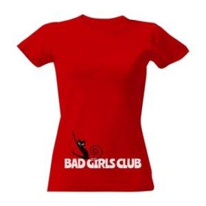 Tričko s potiskem Bad girls club