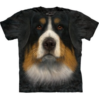 Triko s potiskem Bernský salašnický pes