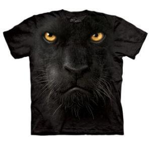 Tričko s potiskem Černý panter