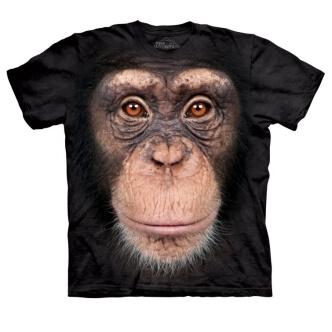 Tričko s potiskem šimpanz