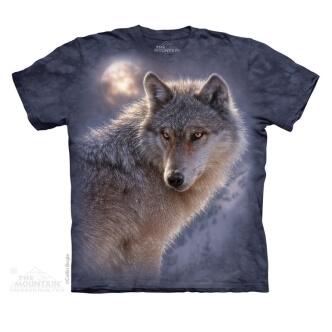 Tričko s potiskem Dobrodružný vlk