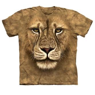 Dětské tričko s potiskem Lev bojovník