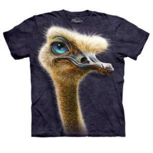 Tričko s potiskem Pštros
