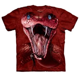 Tričko s hadem Červená mamba