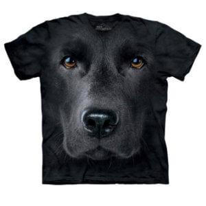 Tričko s potiskem Černý labrador