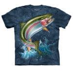 Rybářské tričko Duhový pstruh