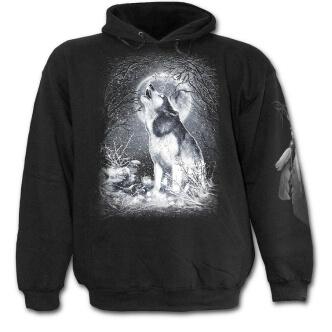 Mikina s potiskem Bílý vlk
