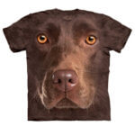 Tričko Hnědý labrador