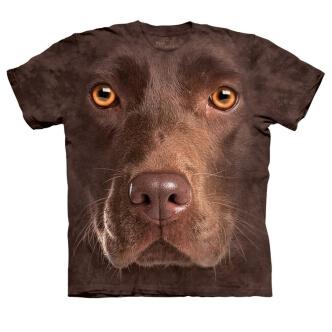 Tričko s potiskem Hnědý labrador