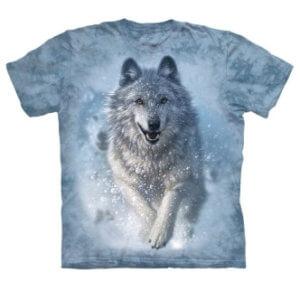 Tričko s potiskem Sněžný vlk