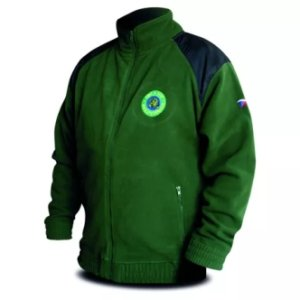 Zelená bunda pro rybáře fleece Hi-Q