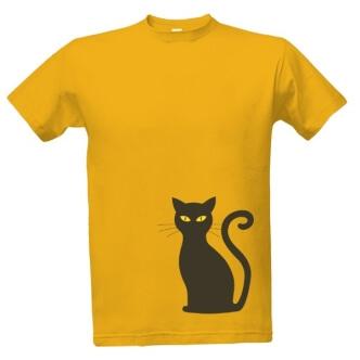 Tričko s potiskem Cat