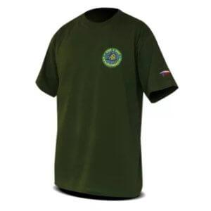Dětské rybářské tričko s potiskem Chyť a pusť