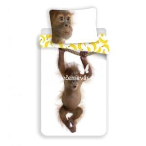 3D bavlněné povlečení Orangutan 140x200