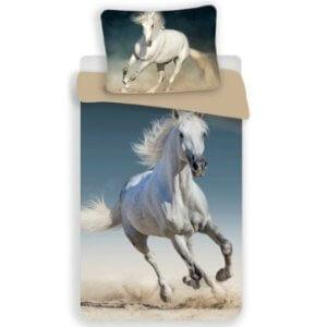 3D bavlněné povlečení Kůň 140x200