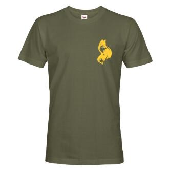 Tričko pro myslivce s potiskem Liška