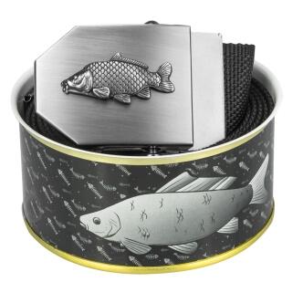 Rybářský opasek 3D černý v dárkovém balení