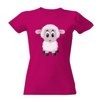 Tričko s potiskem Ovečka