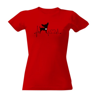 Tričko s potiskem I Love Chihuahua