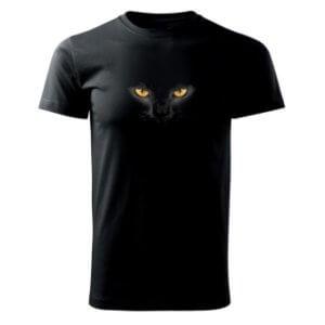 Tričko s potiskem Kočičí oči