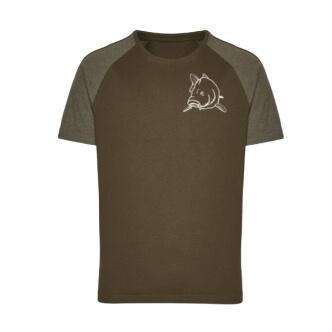 Rybářské triko s potiskem Kapr